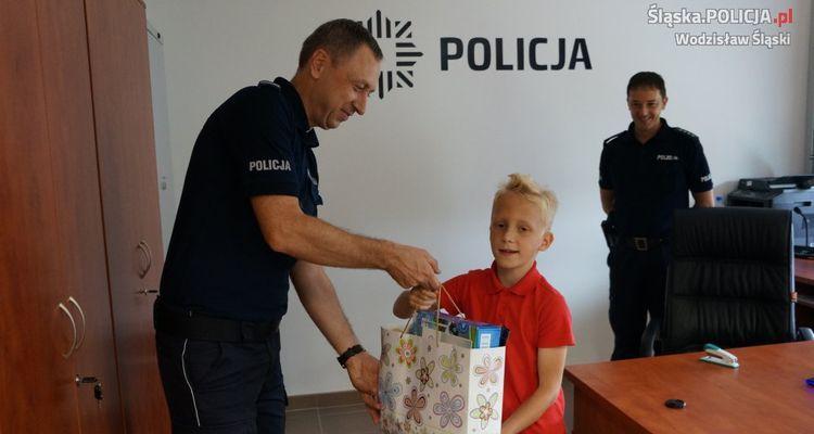 Wodzisław, Przemysława: rezolutny 9-latek pomógł policjantom złapać złodzieja