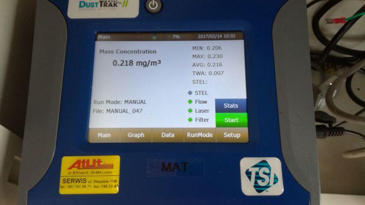 Mierzyliśmy pył zawieszony w powiecie wodzisławskim. Jesteście ciekawi, jakie są wyniki?