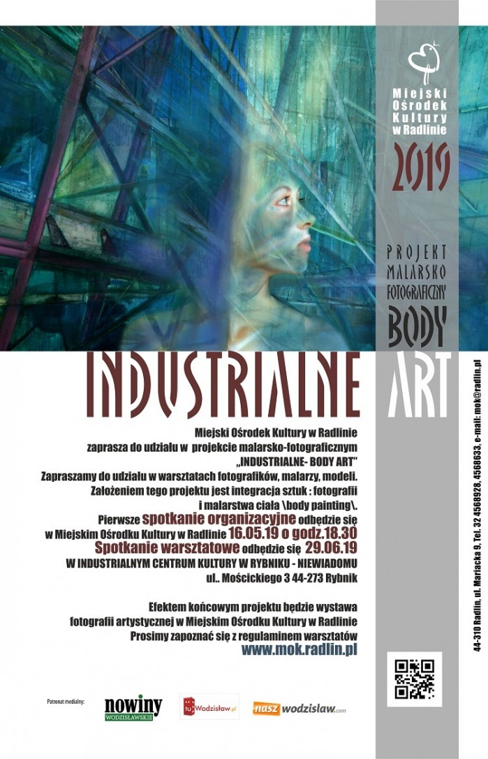 Industrialne Body Art w Radlinie,