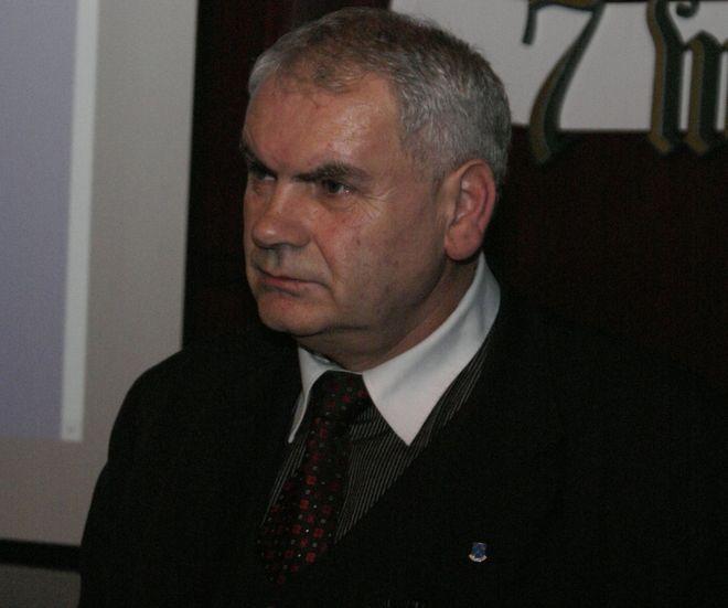 Przewodniczący Lucjan Szwan apeluje do mieszkańców, by zostali członkami Naprzodu Rydułtowy