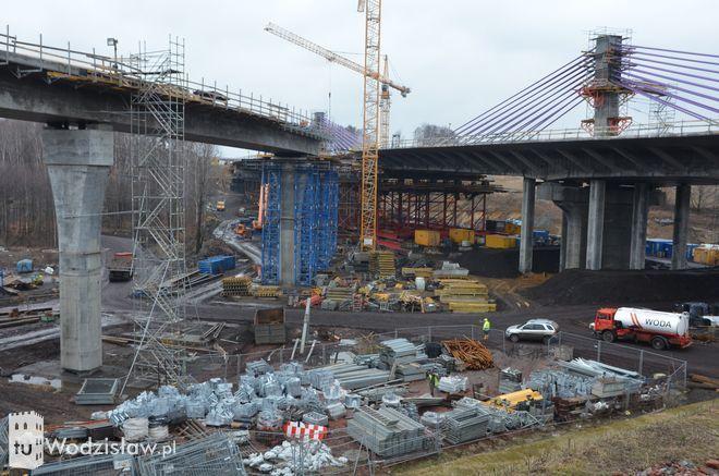 Budowa A1 wstrzymana. Most w Mszanie stwarza zagrożenie