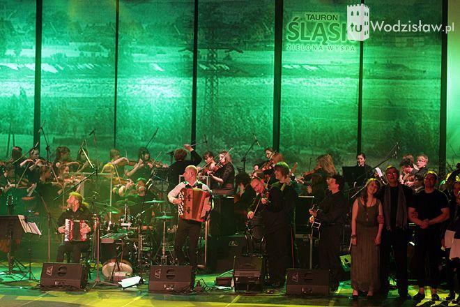Na Zielonej Wyspie Śląsk wystąpiła m.in. Orkiestra Symfoniczna z Rybnika
