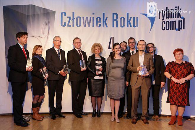 Ludzie Roku 2013 portali: Rybnik.com.pl, tuWodzisław.pl; tuŻory.pl i tuJastrzębie.pl