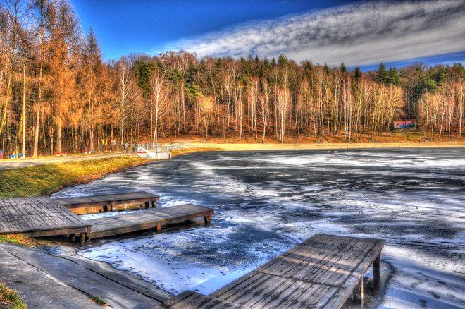Cztery pory roku nad Balatonem. Zobacz niezwykłe zdjęcia, Bronisław Krywulko