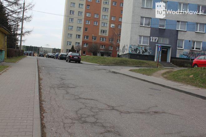 Szykuje się remont dwóch odcinków bocznej drogi ulicy Radlińskiej.
