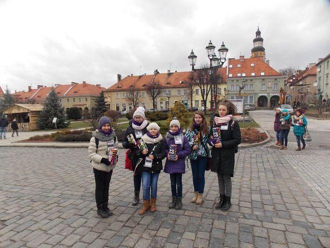 100 wolontariuszy zbierało datki w Wodzisławiu.