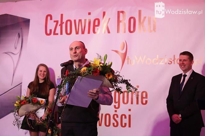 Człowiek Roku tuWodzisław.pl 2014: laureaci odebrali statuetki. Kto znalazł się w tym gronie?, Dominik Gajda