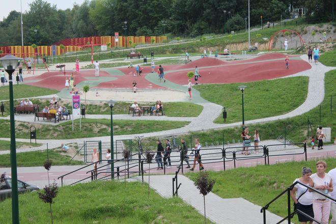 W miniony weekend mieszkańcy świętowali 1. urodziny Rodzinnego Parku Rozrywki.