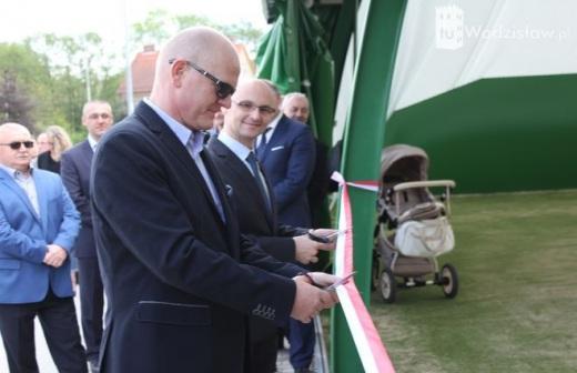Otwarcie hali tenisowej w Wodzis�awiu