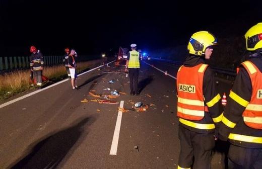 Wodzis�awscy stra�acy interweniowali na A1