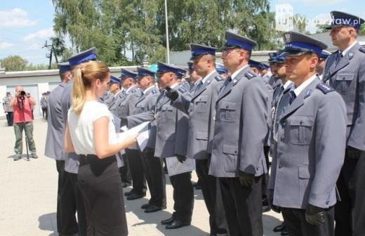 �wi�to Policji i otwarcie komendy w Wodzis�awiu