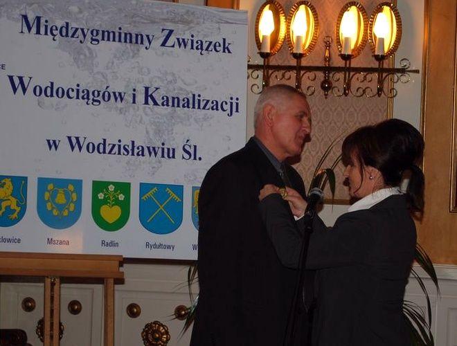 Wodzisław: jubileusz 20-lecia MZWiK, UM Wodzisław