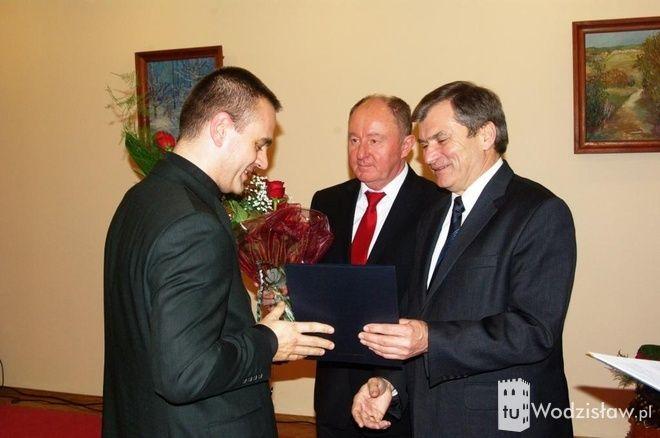 Sportowcy i ludzie kultury odebrali nagrody powiatu wodzisławskiego