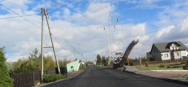 Remontowana ulica Chrobrego