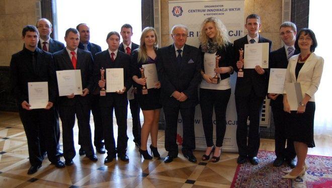 Kolejny sukces uczniów Zespołu Szkół Zawodowych w Wodzisławiu w konkursie o tytuł ''Młodego Lidera Innowacji Województwa Śląskiego''