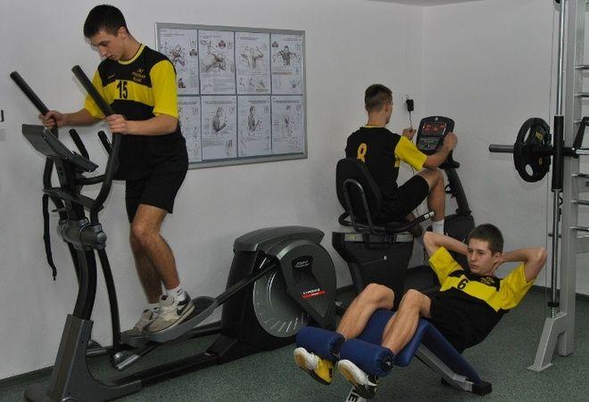 W Zespole Szkół Technicznych w Wodzisławiu Śl. uruchomiono nowoczesną siłownię