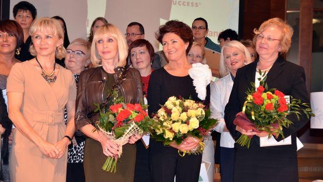 Gabriela Chromik otrzymała wczoraj z rąk prezydentowej Jolanty Kwaśniewskiej tytuł Super Wolontariuszki