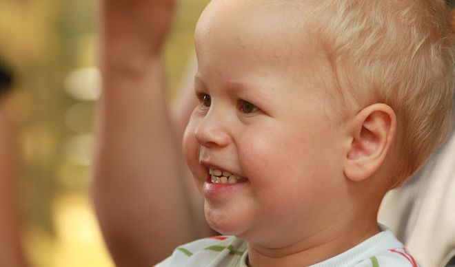 3,5-letni Piotruś z Wodzisławia potrzebuje pomocy. Czeka go operacja serca, ig
