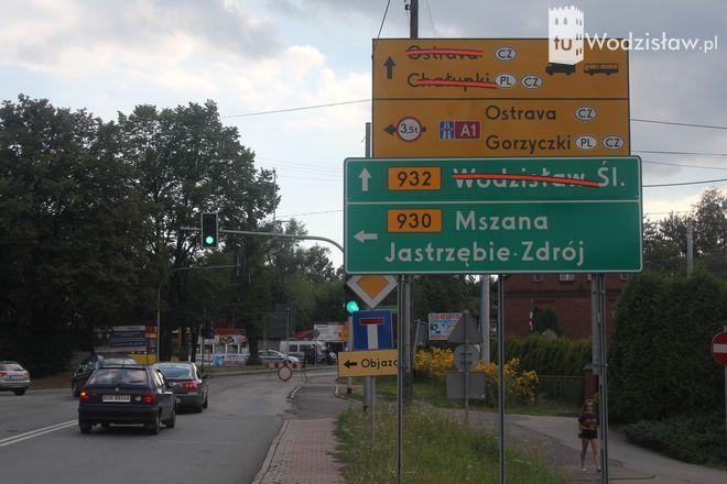 Odcinek DW 932 od skrzyżowania z DW 930 w Świerklanach do skrzyżowania z ulicą Wiosny Ludów w Marklowicach jest zakmnięty do odwołania