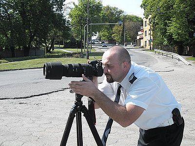 Nowy sprzęt policji pomoże wyłapywać kierowców łamiących przepisy , KPP Wodzisław