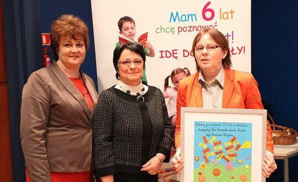 Od lewej: Barbara Magera, Maria Lipińska, Halina Miza
