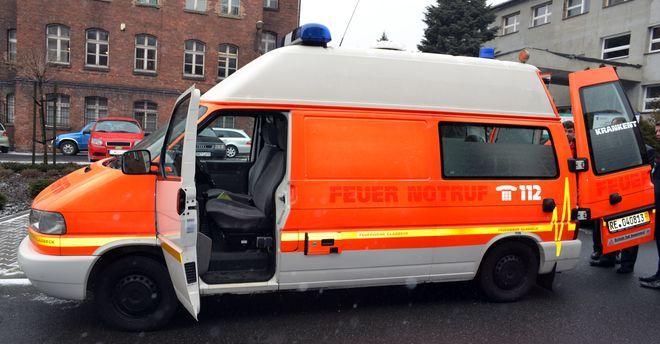 Wodzisław otrzymał od miasta partnerskiego Gladbeck wóz do transportu chorych