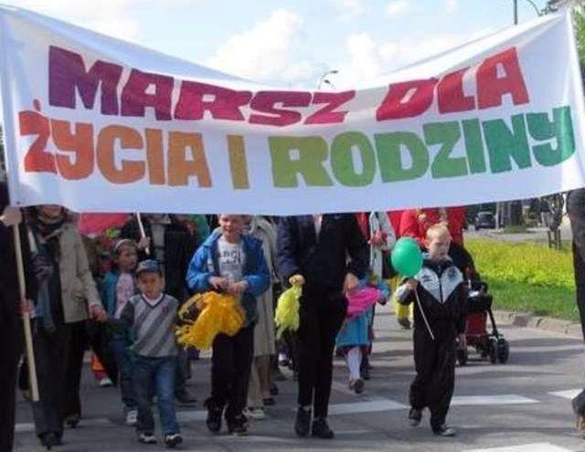 W Wodzisławiu przejdzie Marsz za Życiem i Rodziną,