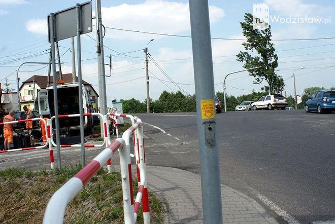 Mszana: uwaga na skrzyżowaniu Wodzisławskiej i Wolności! Nie ma już sygnalizacji , UG Mszany
