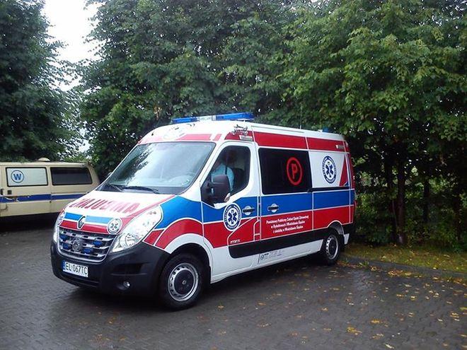To nowy ambulans Pogotowia Ratunkowego w Wodzisławiu.