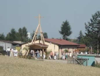 Wodzisław: będzie nowe oświetlenie drogi do kaplicy na Wilchwach, Kaplica pw. św. Wawrzyńca