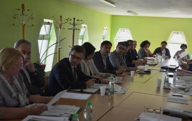 Spotkanie zespołu roboczego w sprawie programu naprawczego szpitali.