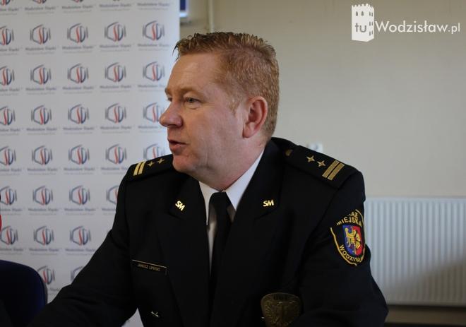 O zmianach w strefie płatnego parkowania poinformował dziś dziennikarzy komendant Straży Miejskiej, Janusz Lipiński