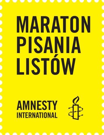 W Wodzisławiu po raz czwarty rusza Maraton Pisania Listów Amnesty International, amnesty.org.pl