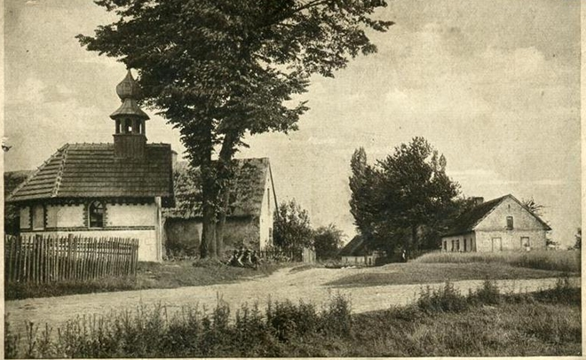 Pocztówka Wilchwy około 1915 r.