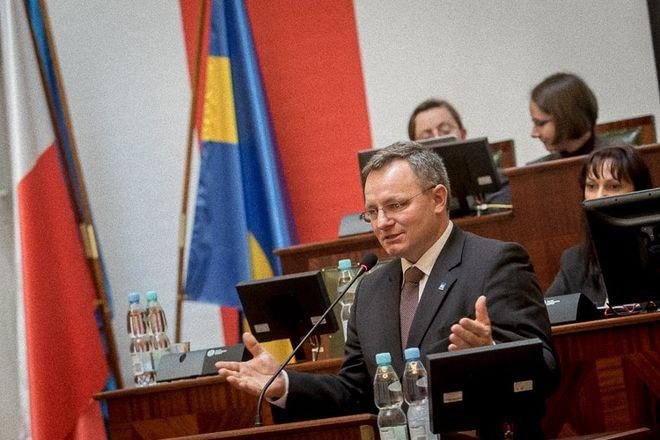 Janusz Wita z Połomi wiceprzewodniczącym Sejmiku Województwa Śląskiego, Tomasz Żak, źródło: sejmik.slaskie.pl