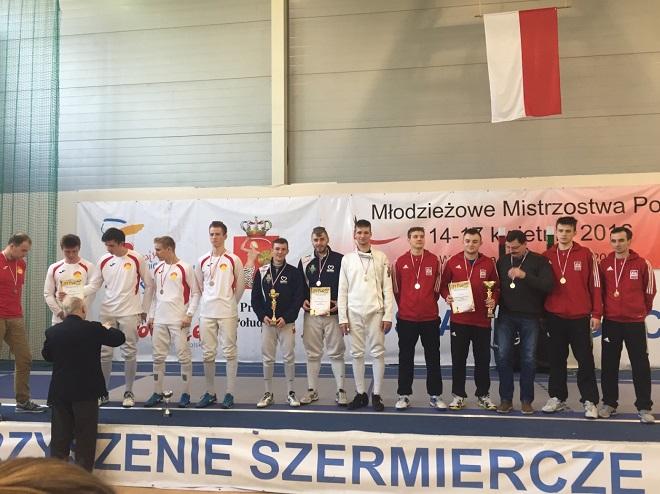 Szermierze z Towarzystwa Sportowego Górnik Radlin zdobyli Wicemistrzostwo Polski