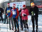 Nordic walking w śniegu
