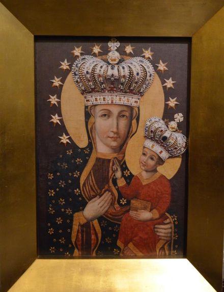 Starostwo dotuje konserwację obrazu Matki Boskiej Uśmiechniętej w Pszowie, materiały prasowe