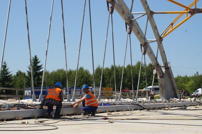 Roboty przy budowie wiaduktu przy ulicy Wodzisławskiej zakończyły się