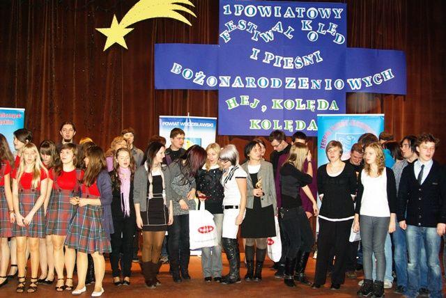 112 wykonawców zaprezentowało się w I Powiatowym Festiwalu Kolęd i Pieśni Bożonarodzeniowych