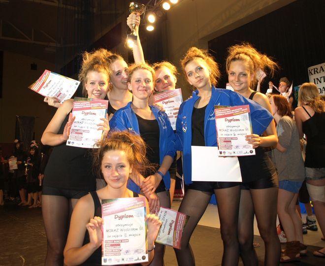 Na Mistrzostwach Polski Show Dance Miraż znów pokazał klasę