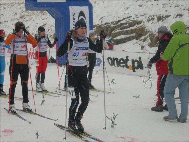 Dominika Bielecka jest zawodniczką wodzisławskiego Międzyszkolnego Klubu Sportowego