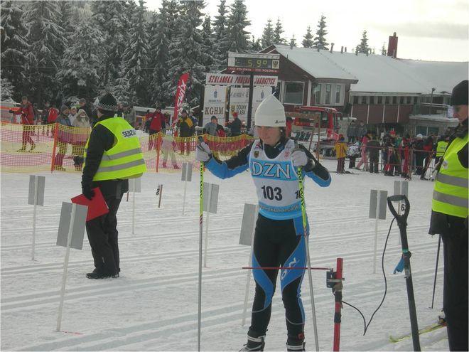 Na dystansie 5km stylem klasycznym Sabina Śpiewak zajęła 2 miejsce