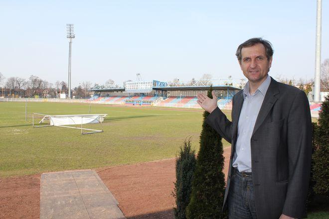 Dyrektor MOSiR-u Bogdan Bojko