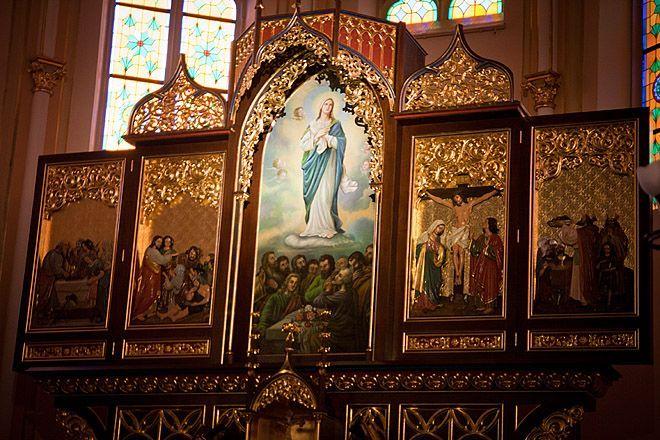 W wodzisławskiej parafii pw Wniebowzięcia Najświętszej Maryi Panny na ukończeniu jest budowa nowego ołtarza