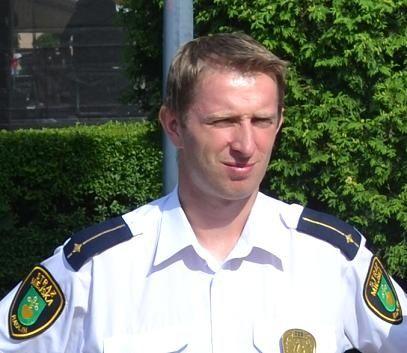 Jednym z nominowanych jest Klaudiusz Szweda - strażnik miejski roku 2011