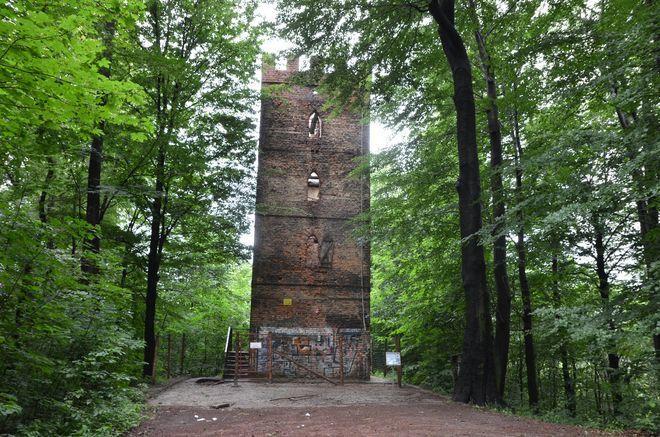 Ogłoszono już przetarg na wykonanie robót zabezpieczających wieży romantycznej