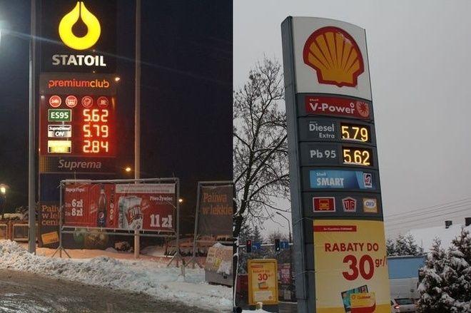 W porównaniu do grudnia 2011 roku cena litra benzyny czy ropy poszła w górę o 20 groszy