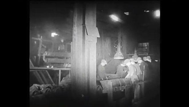 Internauci znaleźli film z 1941 roku dokumentujący pracę w KWK Rydułtowy.