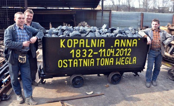 Dziś w KWK Anna wydobyto ostatnią tonę węgla
